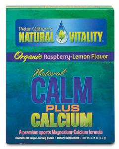 NATURAL CALM PLUS CALCIUM ORGANIC RASPBERRY LEMON 30 PACKETS