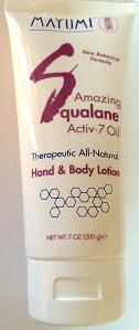 MAYUMI OLIVE SQUALANE ACTIV7 OIL HAND AND BODY LOTION
