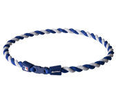 MLB TORNADO NECKLACE NAVY/WHITE