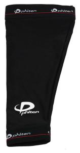 PHITEN TITANIUM POWER SLEEVE BLACK One Pair