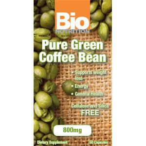 PURE GREEN COFFEE BEAN EXTRACT 800 MG