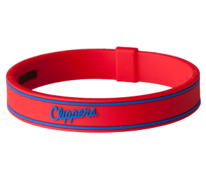 LA CLIPPERS TITANIUM TEAM BRACELET
