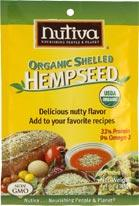ORGANIC SHELLED HEMPSEED 13 oz
