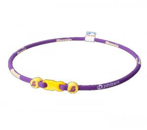 LA LAKERS TITANIUM X30 NECKLACE