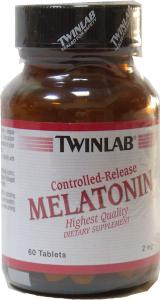 MELATONIN 2 mg Controlled Release 60 Tabs