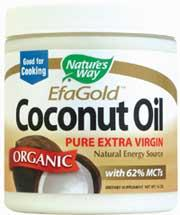 NATURES WAY ORGANIC COCONUT OIL 16 OZ